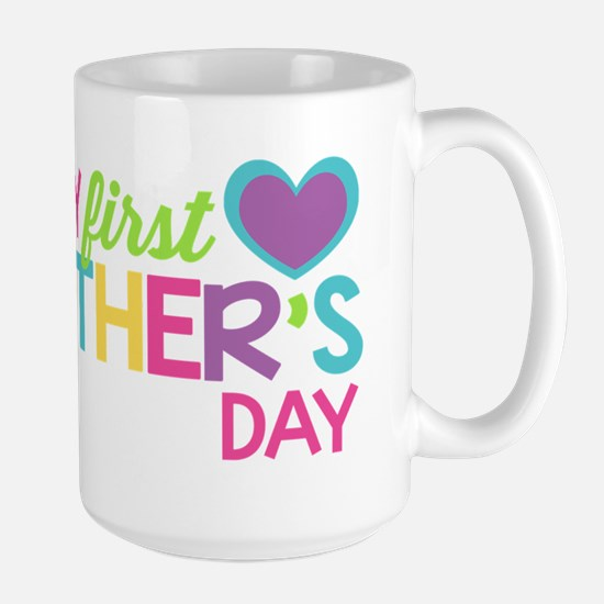 Happy First Mother's Day Girls Mugs