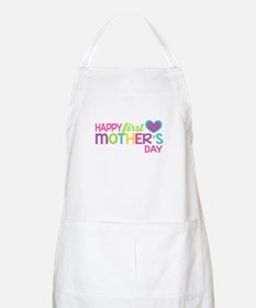 Happy First Mother's Day Girls Apron