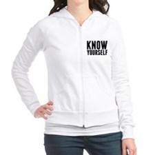 KNOW YOURSELF Fitted Hoodie