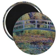 Water Lily Pond by Monet Magnet