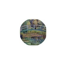 Water Lily Pond by Monet Mini Button