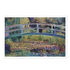 Water Lily Pond by Monet Postcards (Package of 8)