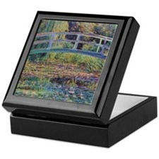 Water Lily Pond by Monet Trinket Box