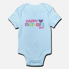 Happy Mother's Day Pink Body Suit