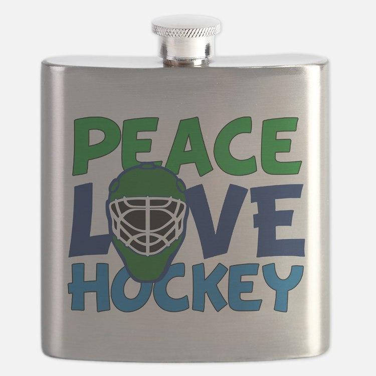 Love Hockey Flask