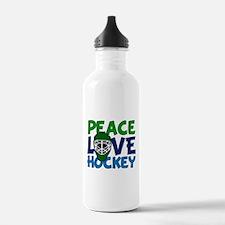 Love Hockey Water Bottle