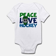 Love Hockey Infant Bodysuit