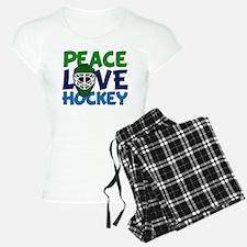 Love Hockey Pajamas