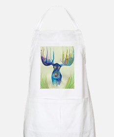 Cute Moose illustration Apron