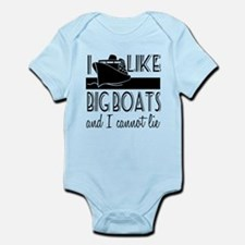 I Like Big Boats Onesie