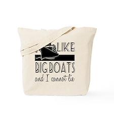 I Like Big Boats Tote Bag