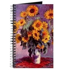 Sunflowers by Monet Journal