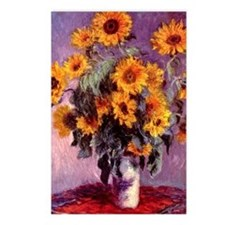 Sunflowers by Monet Postcards (Package of 8)
