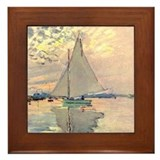 Sailing Framed Tiles