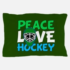 Green Hockey Pillow Case