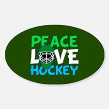 Green Hockey Decal