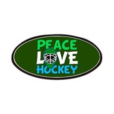 Green Hockey Patch
