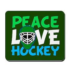 Green Hockey Mousepad