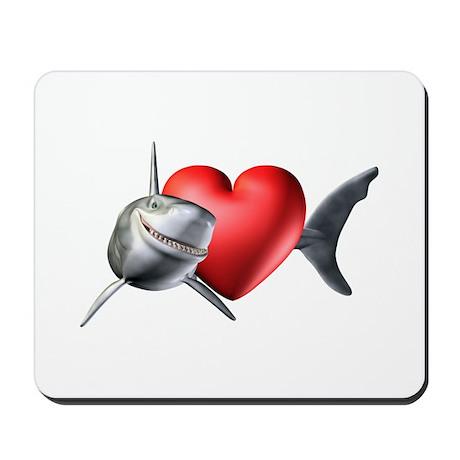 Shark Lover Mousepad