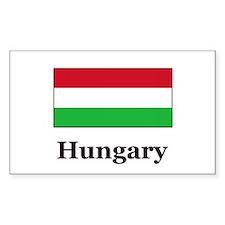 Hungary Rectangle Decal