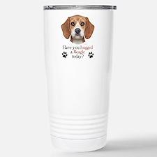 Beagle Hug Travel Mug