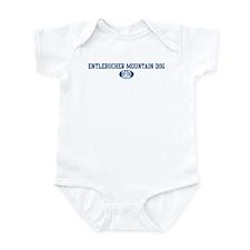 Entlebucher Mountain Dog dad Infant Bodysuit