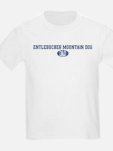 Entlebucher Mountain Dog dad T-Shirt