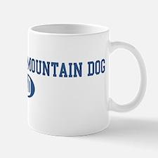 Entlebucher Mountain Dog dad Small Small Mug