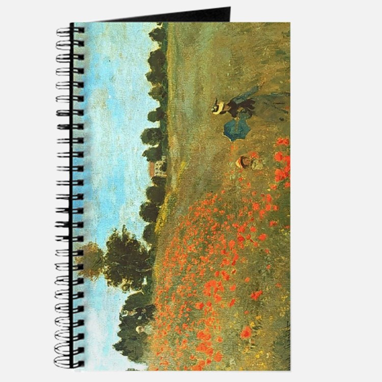 Poppies by Monet Journal