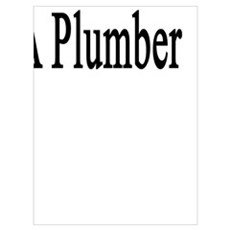 Think Big Date A Plumber Poster