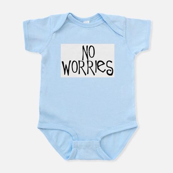 no worries Infant Bodysuit
