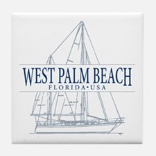 West Palm Beach - Tile Coaster