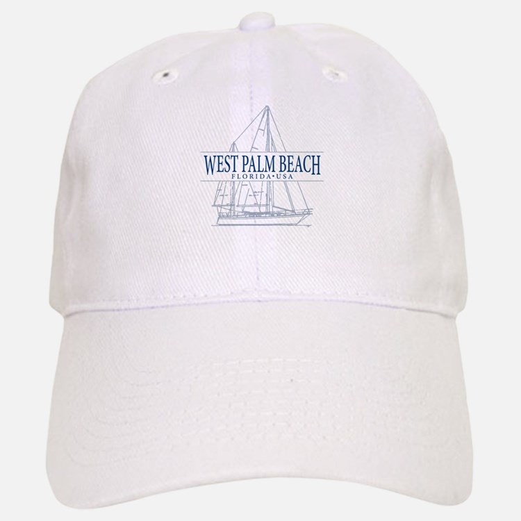 West Palm Beach - Baseball Baseball Cap