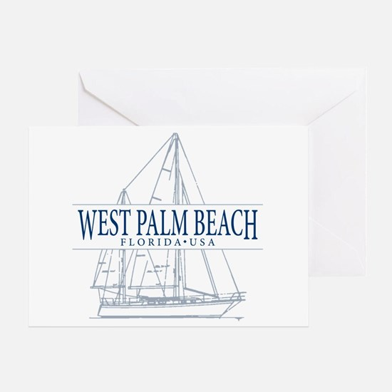West Palm Beach - Greeting Card