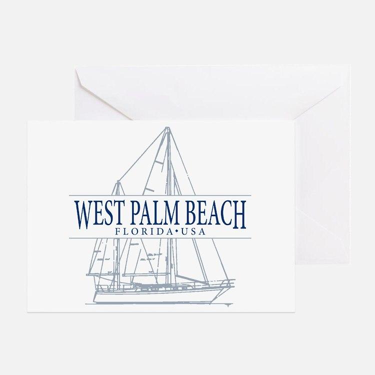West Palm Beach - Greeting Card