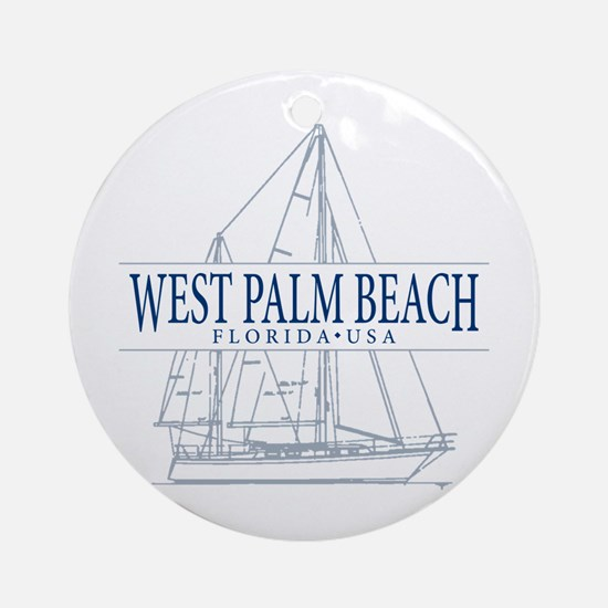 West Palm Beach - Ornament (Round)