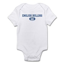 English Bulldog dad Infant Bodysuit