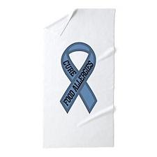 Cure Food Allergies Beach Towel