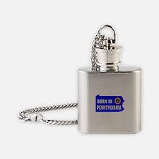 PENNSYLVANIA BORN Flask Necklace