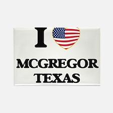 I love Mcgregor Texas Magnets