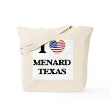 I love Menard Texas Tote Bag