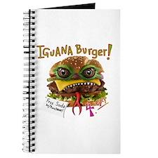 Iguana burger Journal