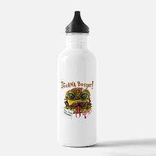 Iguana burger Water Bottle