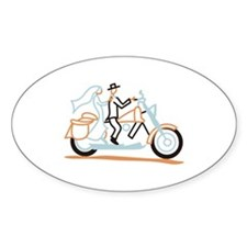 Bride and Groom Decal