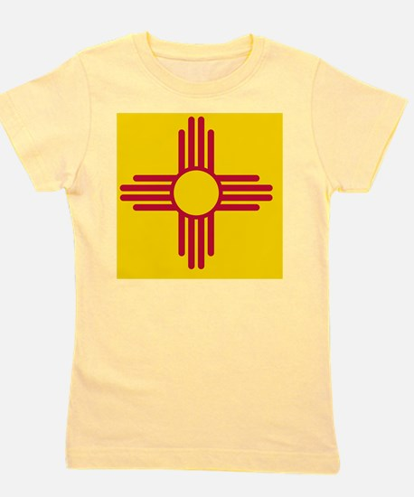 New Mexico State F|lag Girl's Tee