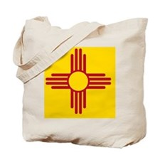 New Mexico State F lag Tote Bag