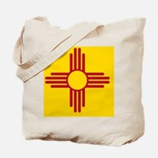 New Mexico State F|lag Tote Bag