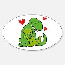 Mommy dinosaur love Decal