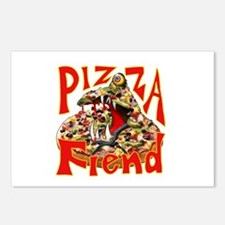 Pizza Fiend Postcards (Package of 8)