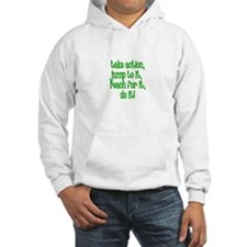 Take Action, Jump to it, reac Hoodie